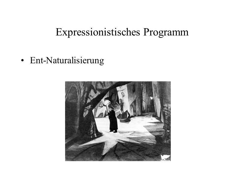 Expressionistisches Programm
