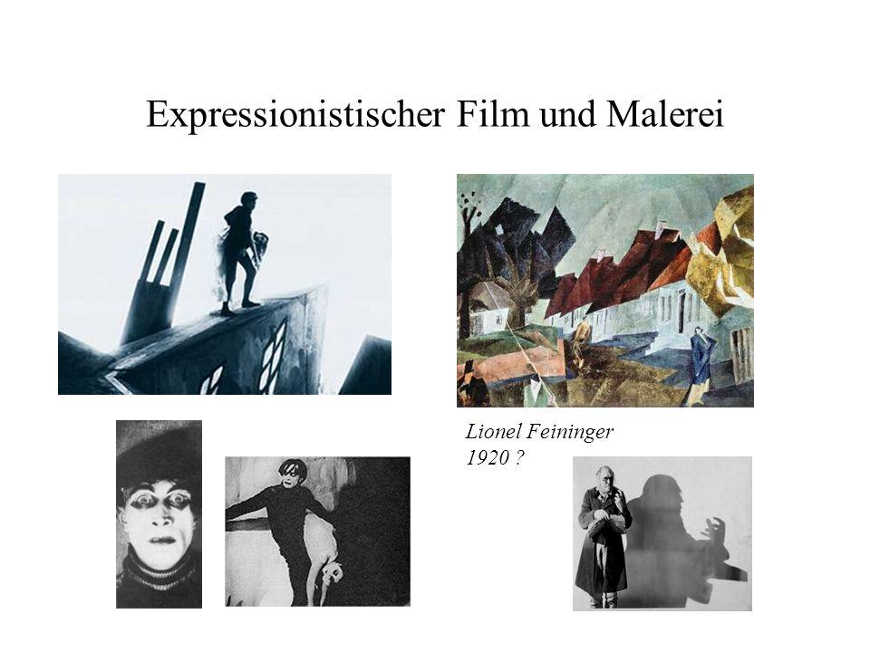 Expressionistischer Film und Malerei