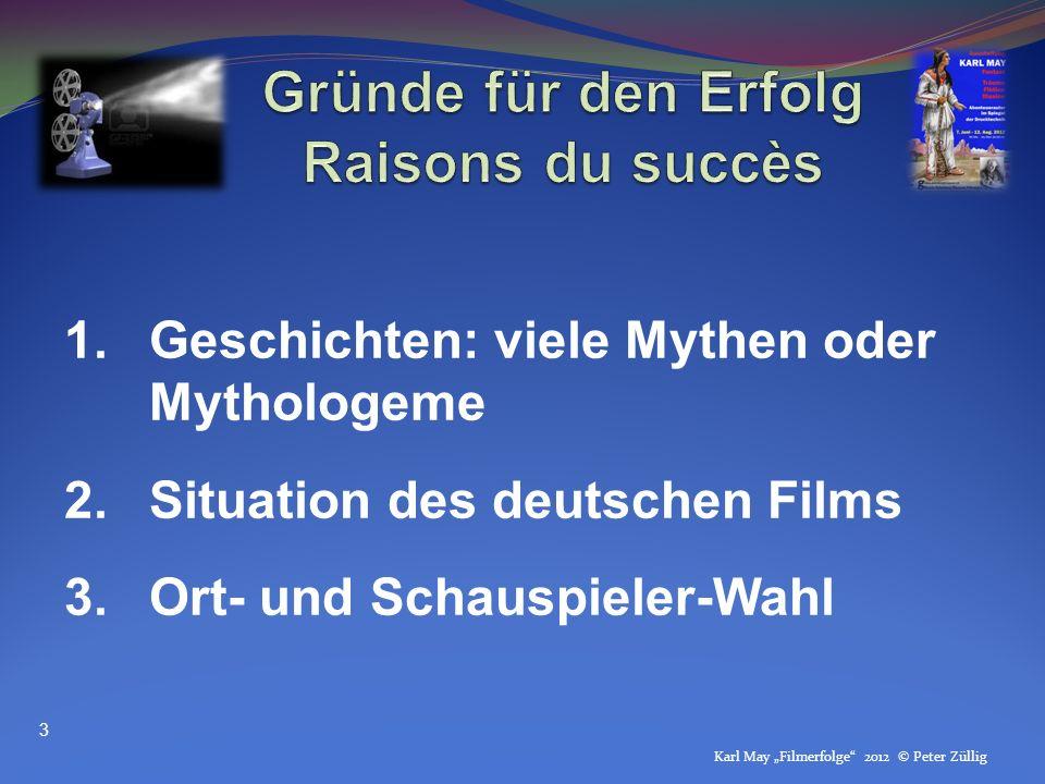 Gründe für den Erfolg Raisons du succès