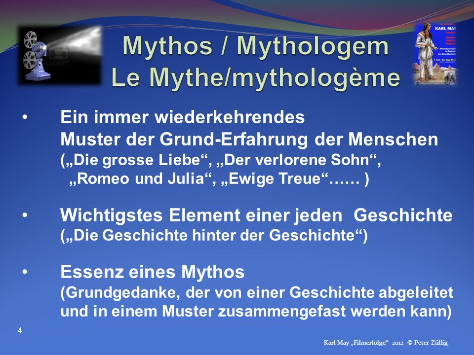 Mythos / Mythologem Le Mythe/mythologème