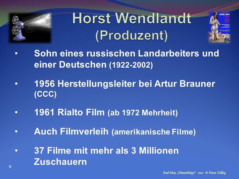 Horst Wendlandt (Produzent)