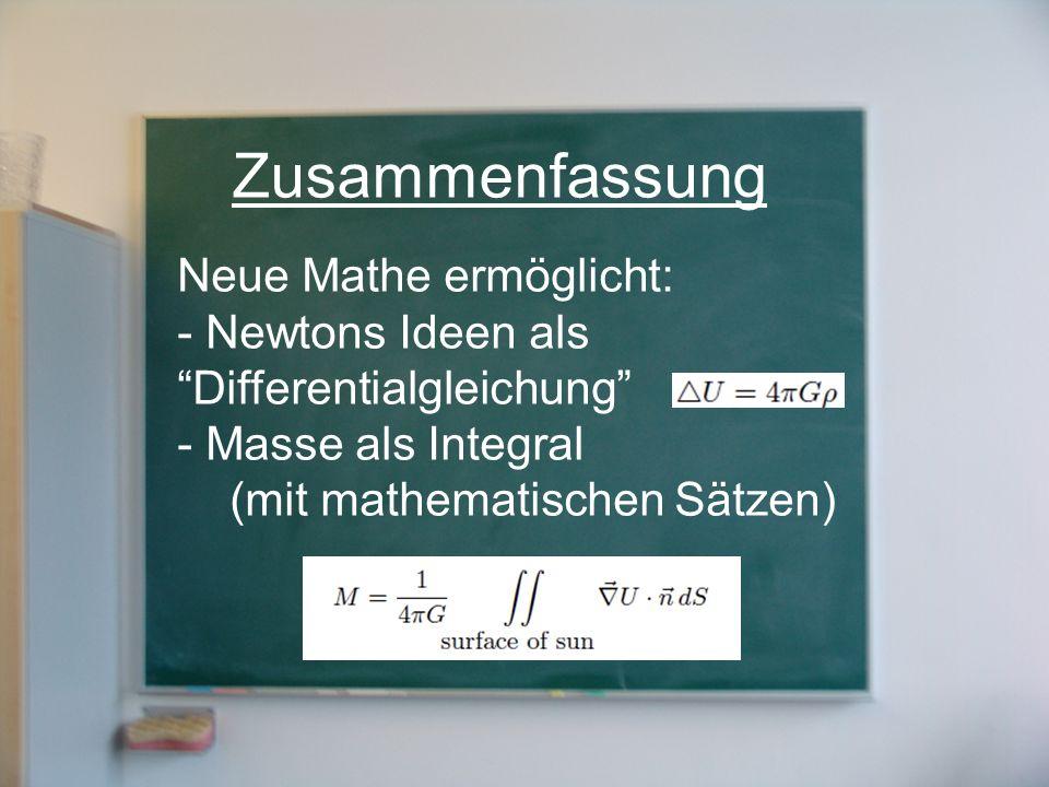 Zusammenfassung Neue Mathe ermöglicht: