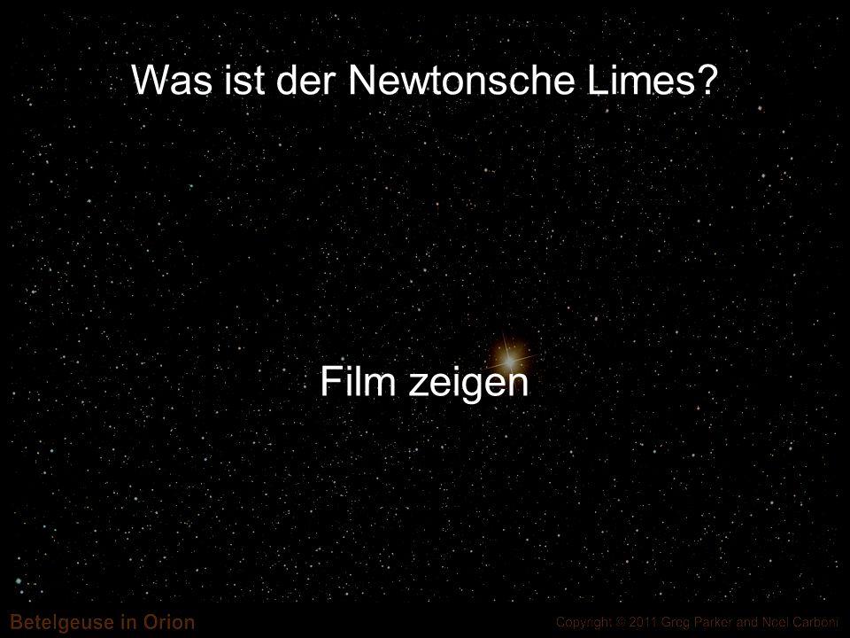 Was ist der Newtonsche Limes