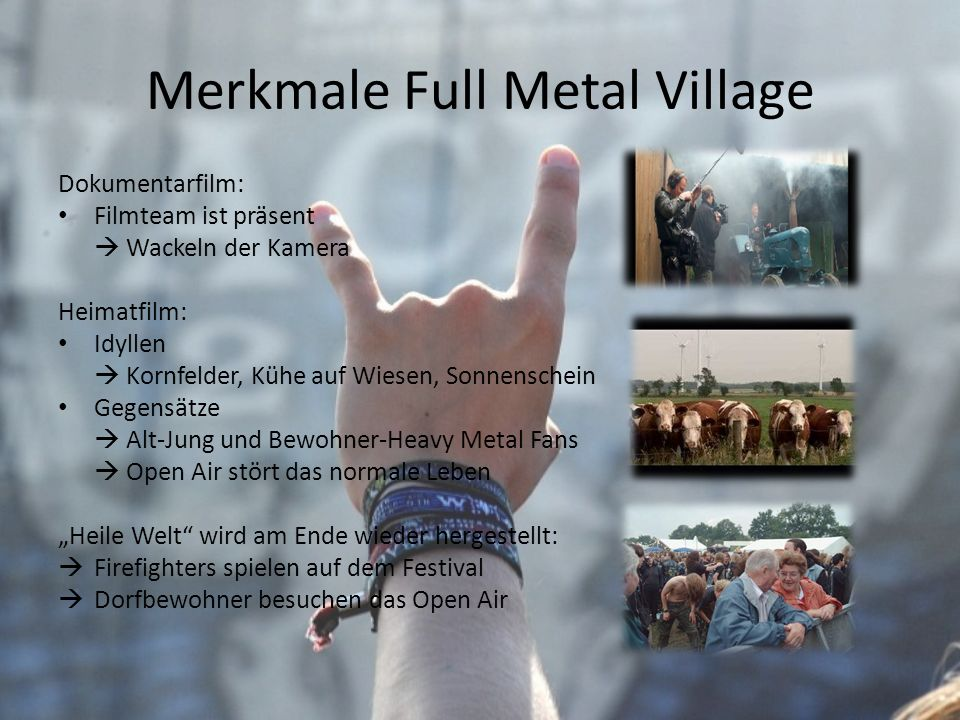 Merkmale Full Metal Village