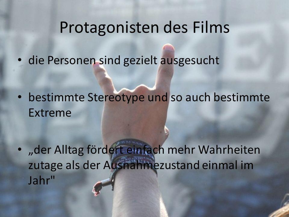 Protagonisten des Films