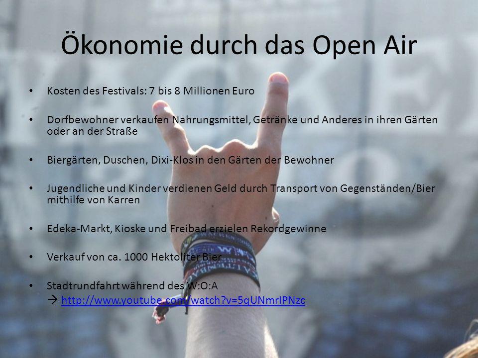 Ökonomie durch das Open Air