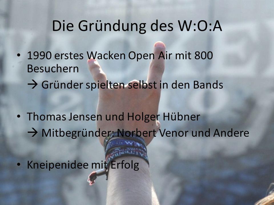 Die Gründung des W:O:A 1990 erstes Wacken Open Air mit 800 Besuchern
