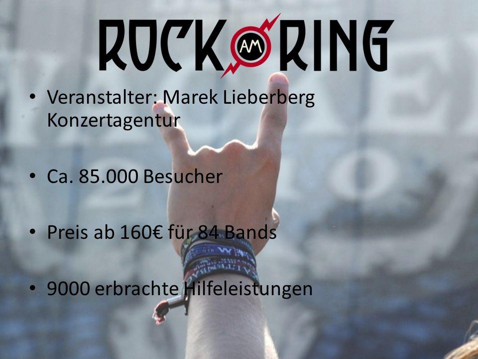 Veranstalter: Marek Lieberberg Konzertagentur