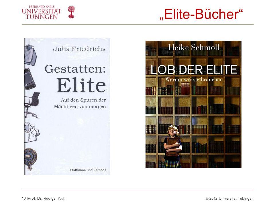 """""""Elite-Bücher"""