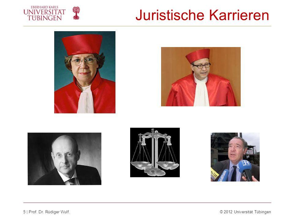Juristische Karrieren