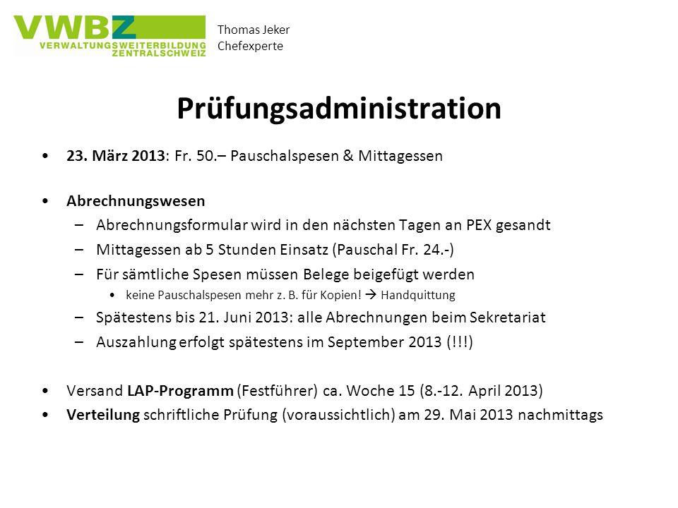 Prüfungsadministration