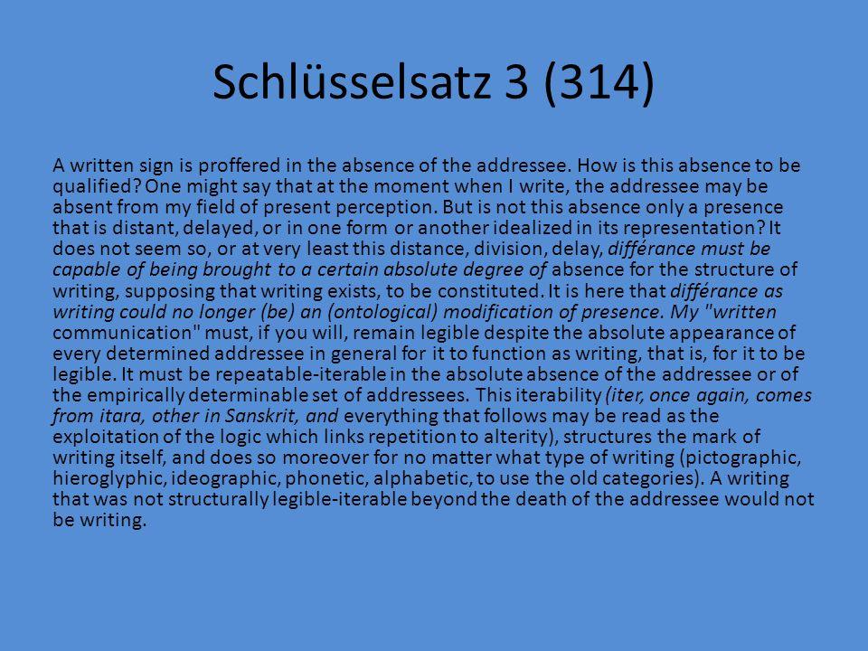 Schlüsselsatz 3 (314)