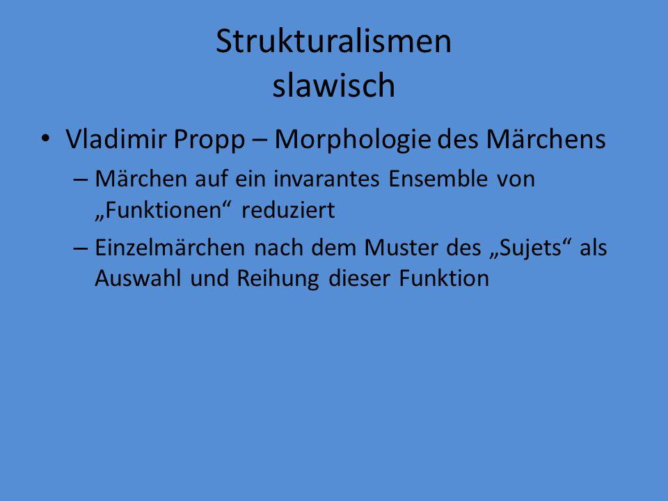 Strukturalismen slawisch