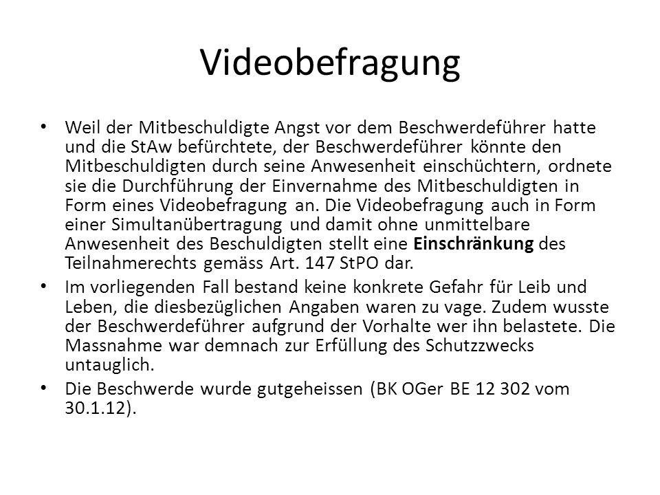 Videobefragung