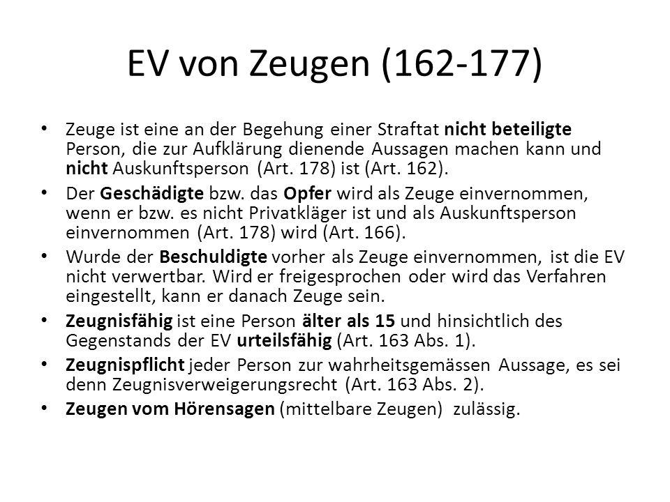 EV von Zeugen (162-177)
