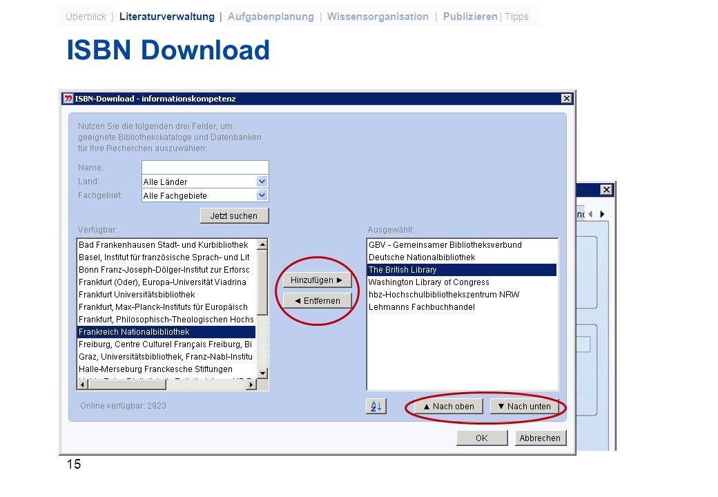 ISBN Download