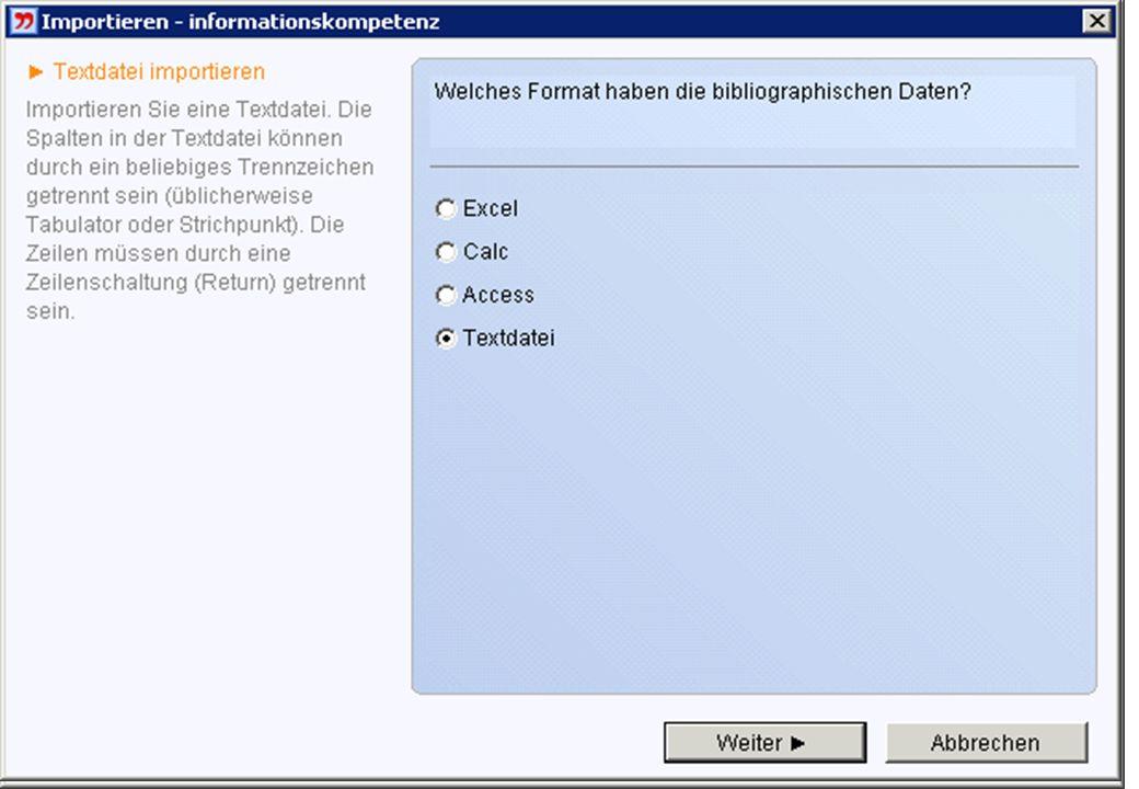 Tabellarische Daten Meistens Dateiname.txt: Text mit Tabulatoren in Spalten angeordnet