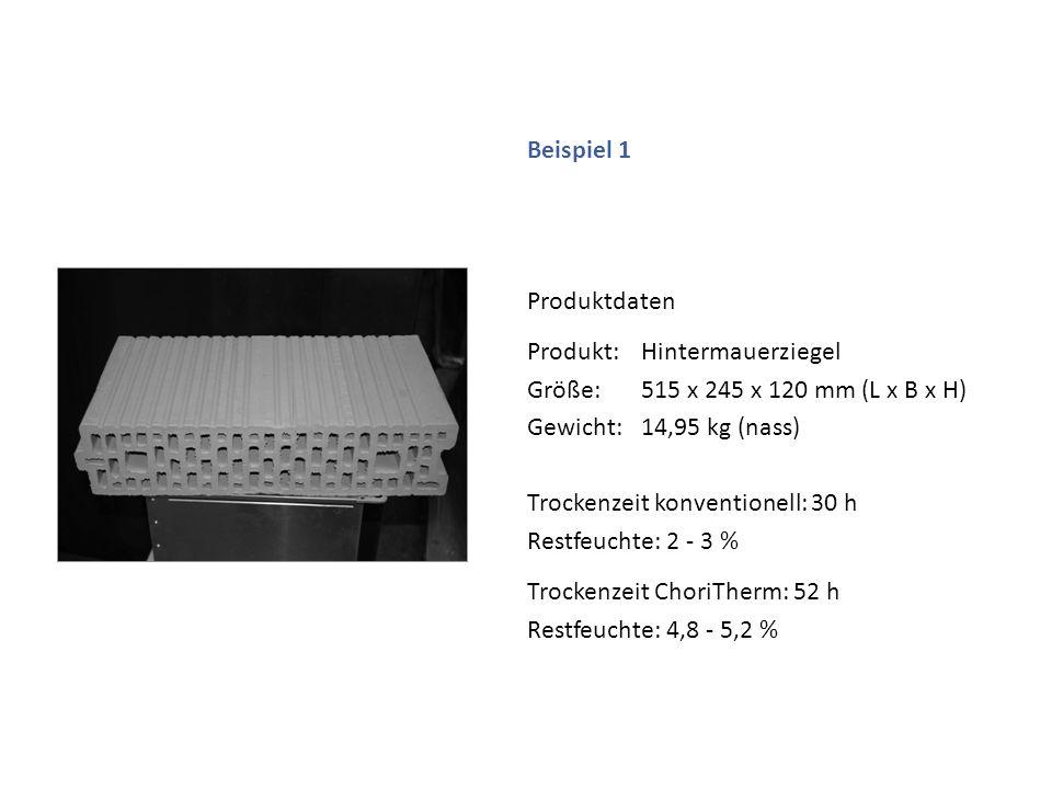 Produkt: Hintermauerziegel Größe: 515 x 245 x 120 mm (L x B x H)