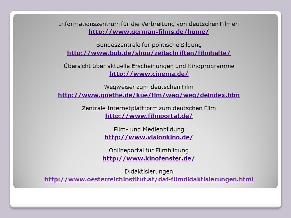 Informationszentrum für die Verbreitung von deutschen Filmen