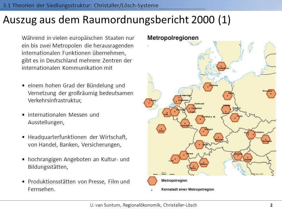 Auszug aus dem Raumordnungsbericht 2000 (1)
