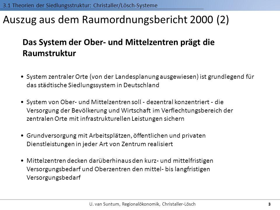 Auszug aus dem Raumordnungsbericht 2000 (2)