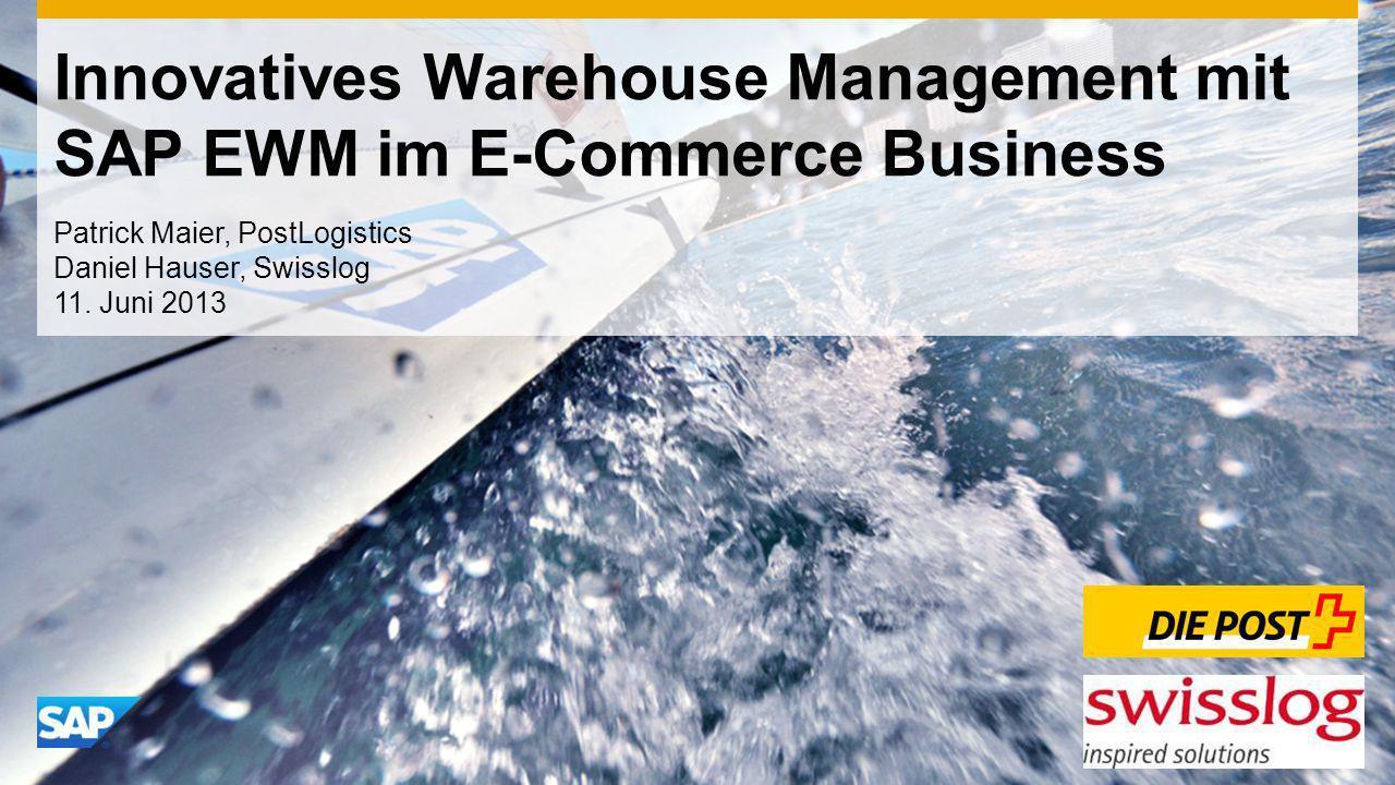 Innovatives Warehouse Management mit SAP EWM im E-Commerce Business