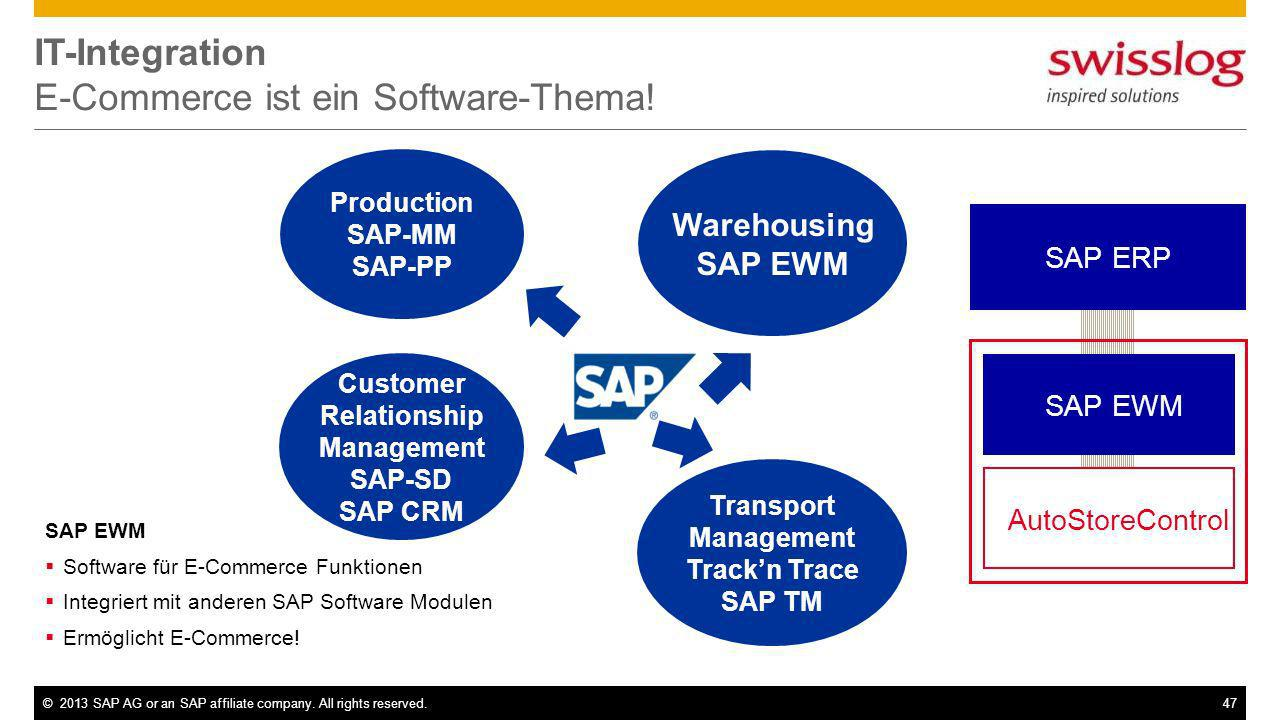 IT-Integration E-Commerce ist ein Software-Thema!