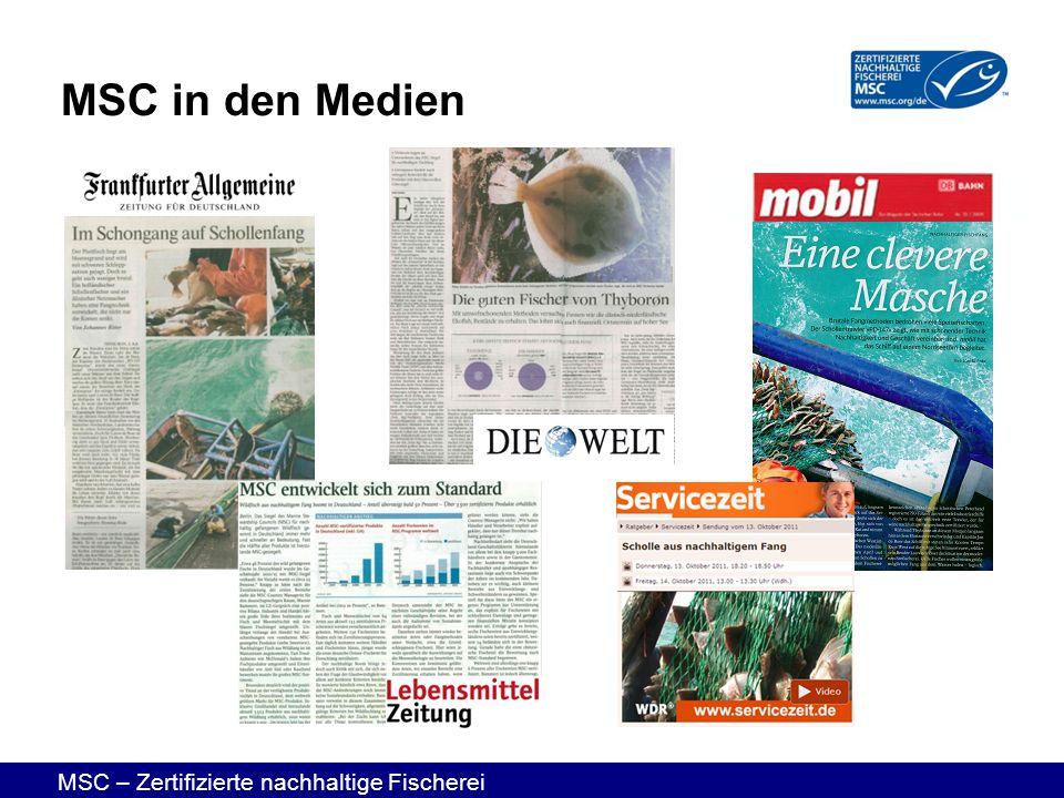 MSC in den Medien