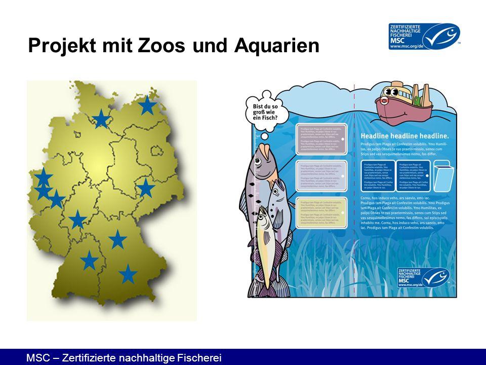Projekt mit Zoos und Aquarien