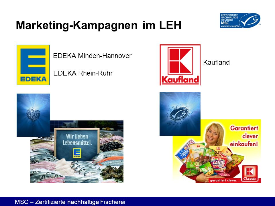 Marketing-Kampagnen im LEH