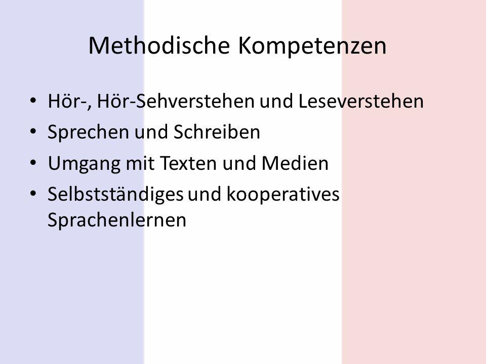 Methodische Kompetenzen