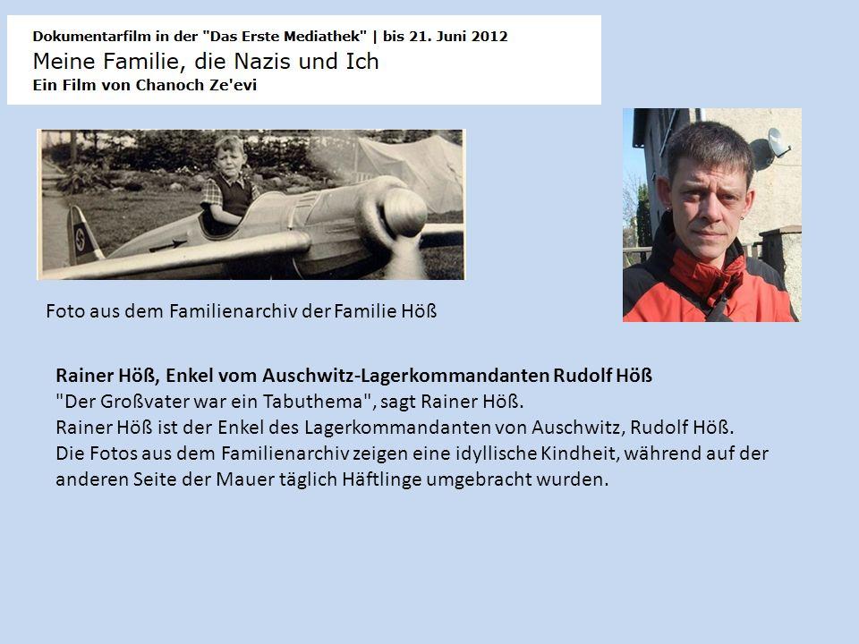 Foto aus dem Familienarchiv der Familie Höß