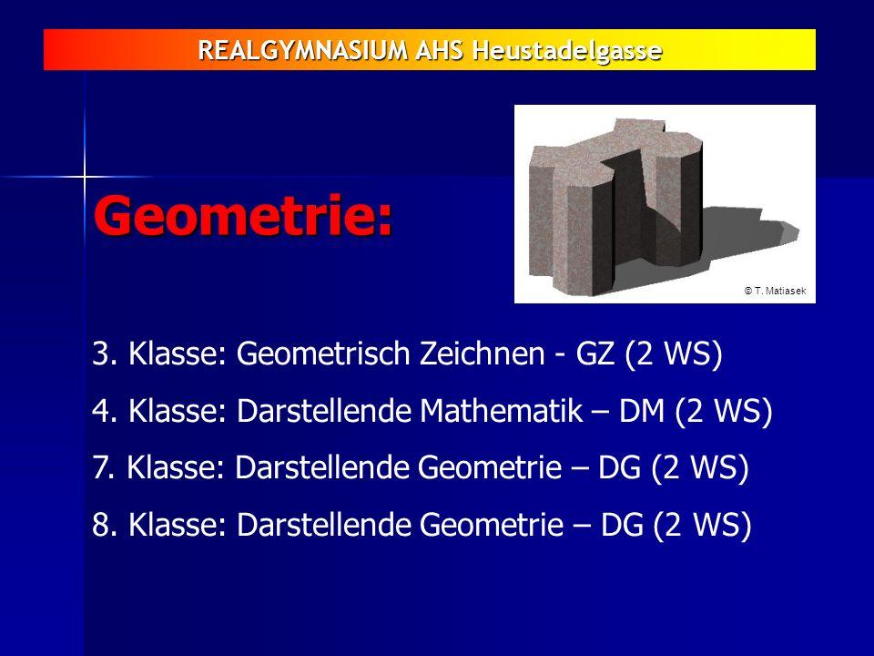 Geometrie: 3. Klasse: Geometrisch Zeichnen - GZ (2 WS)
