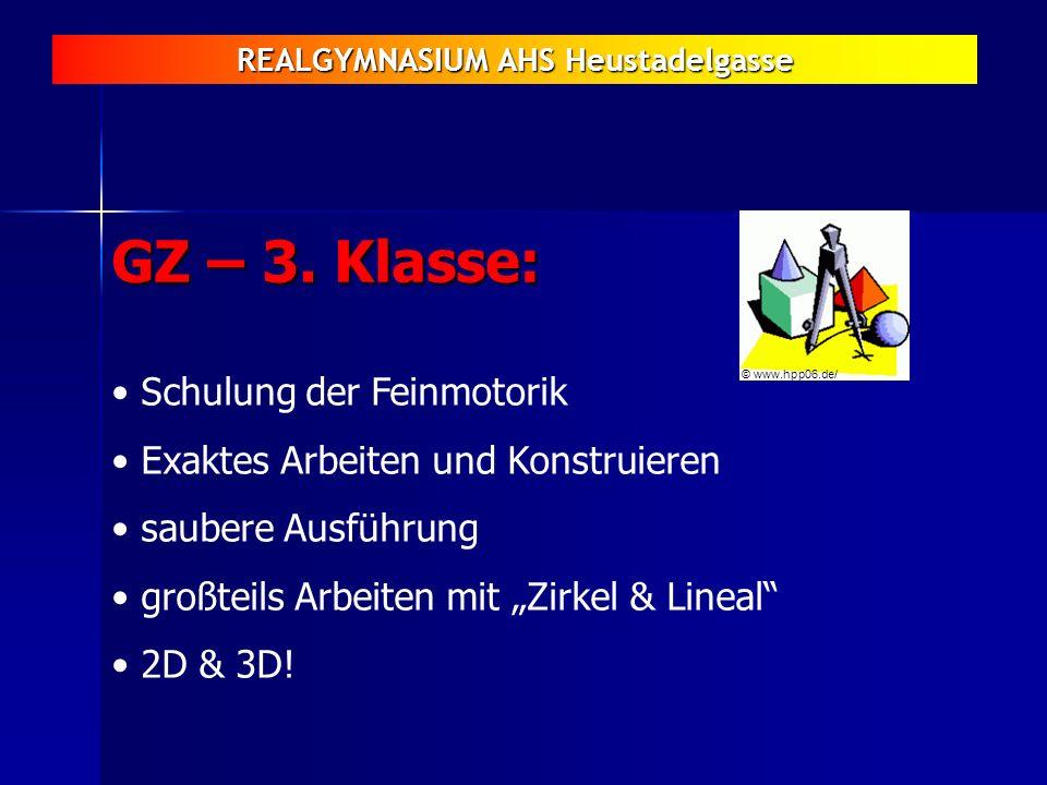 GZ – 3. Klasse: Schulung der Feinmotorik