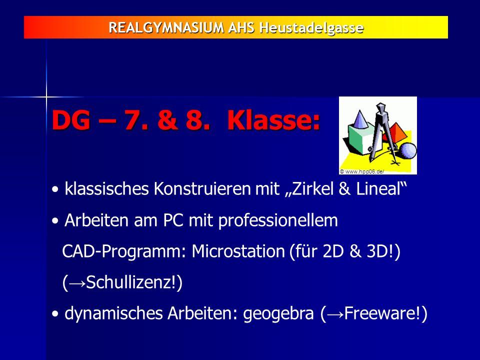 """DG – 7. & 8. Klasse: klassisches Konstruieren mit """"Zirkel & Lineal"""