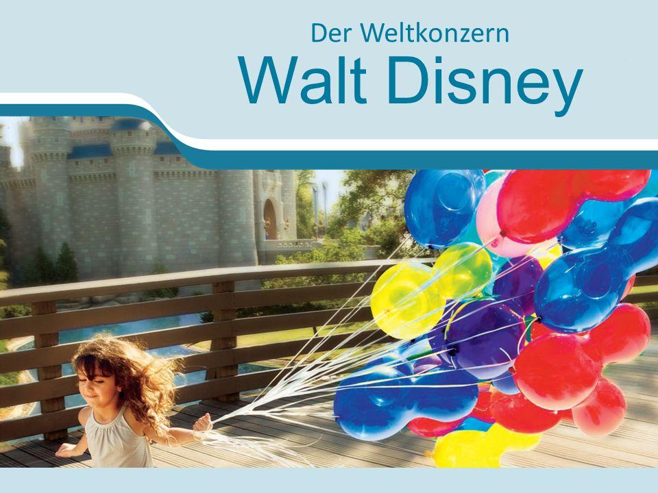 Der Weltkonzern Walt Disney