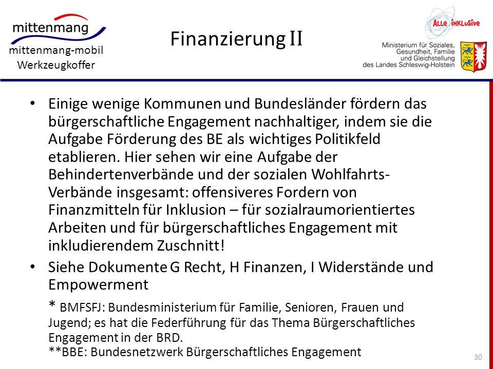 Finanzierung II