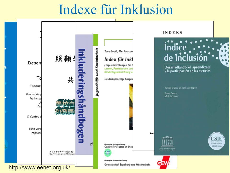 Indexe für Inklusion http://www.eenet.org.uk/