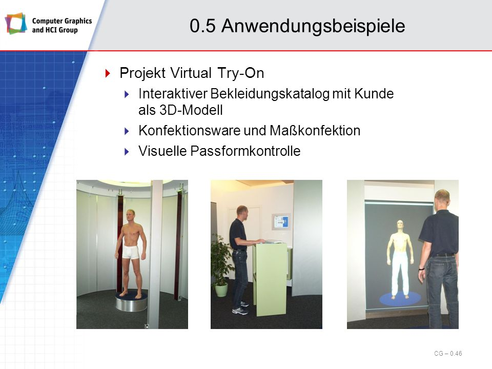 0.5 Anwendungsbeispiele Projekt Virtual Try-On