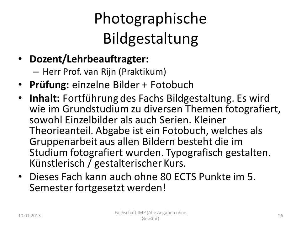Photographische Bildgestaltung