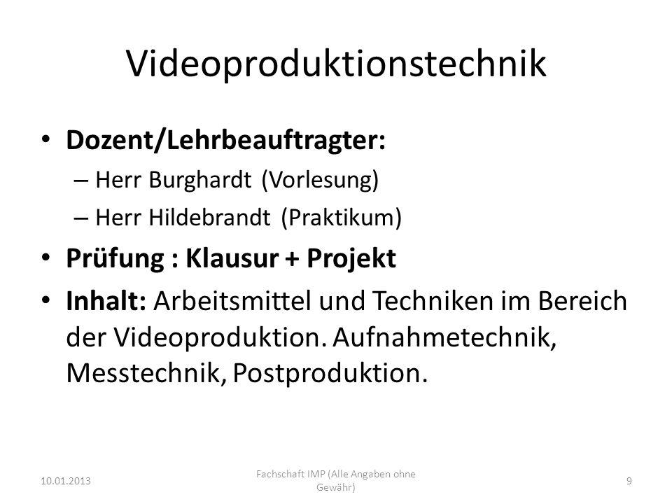Videoproduktionstechnik