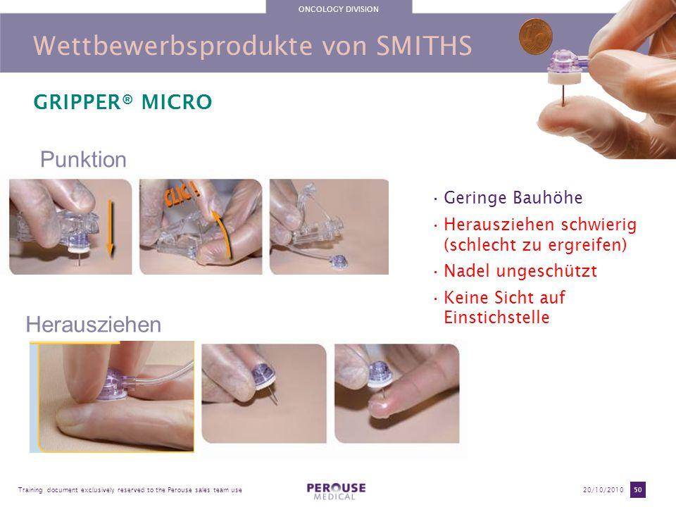 Wettbewerbsprodukte von SMITHS