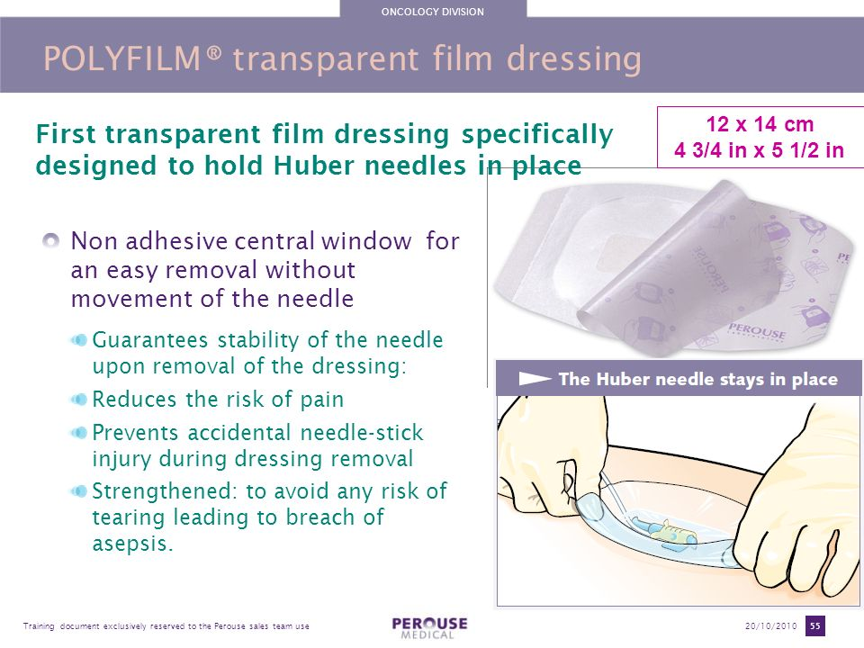 POLYFILM® transparent film dressing