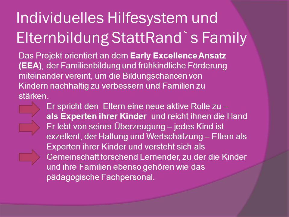 Individuelles Hilfesystem und Elternbildung StattRand`s Family
