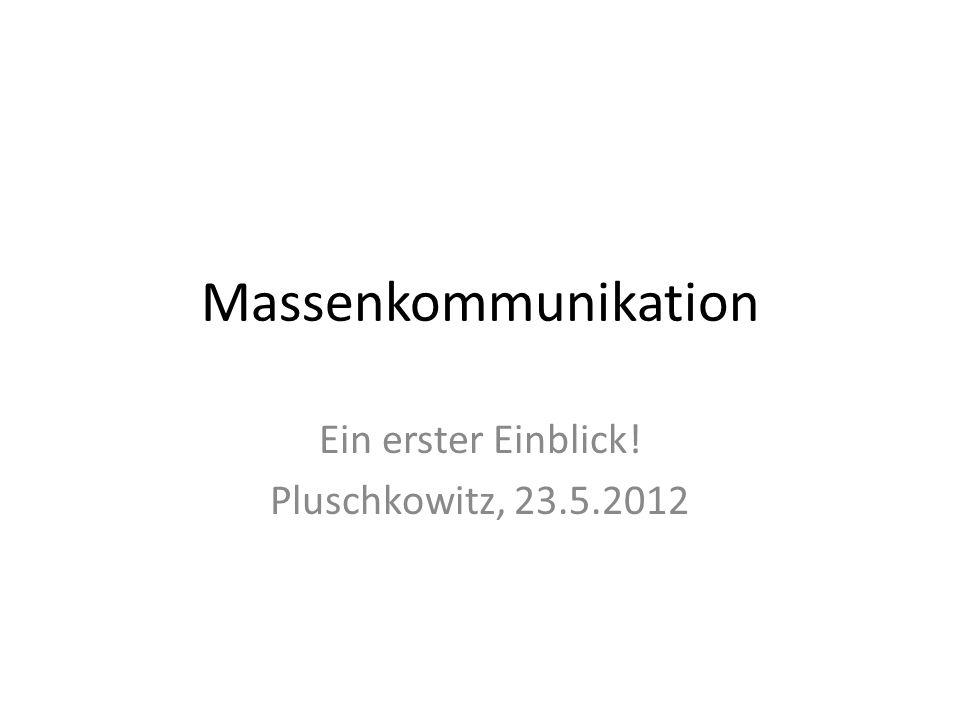 Ein erster Einblick! Pluschkowitz, 23.5.2012