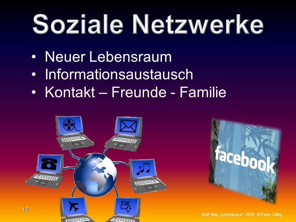 Soziale Netzwerke Neuer Lebensraum Informationsaustausch