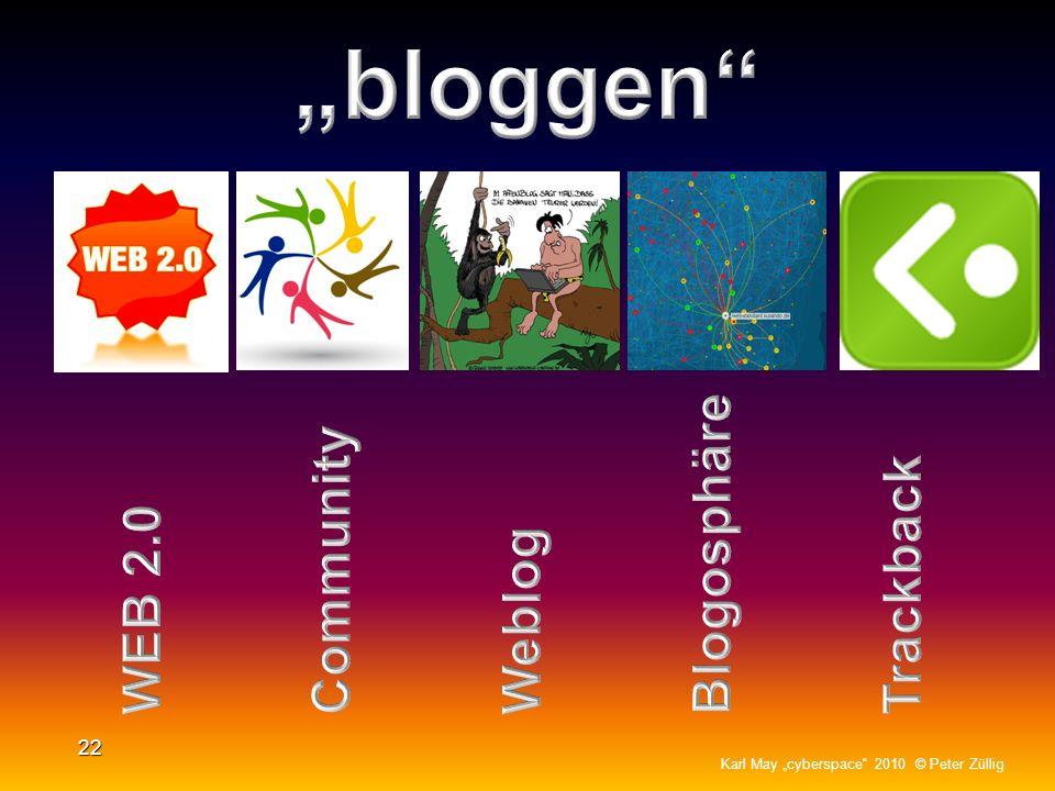"""""""bloggen Blogosphäre Community Trackback WEB 2.0 Weblog"""