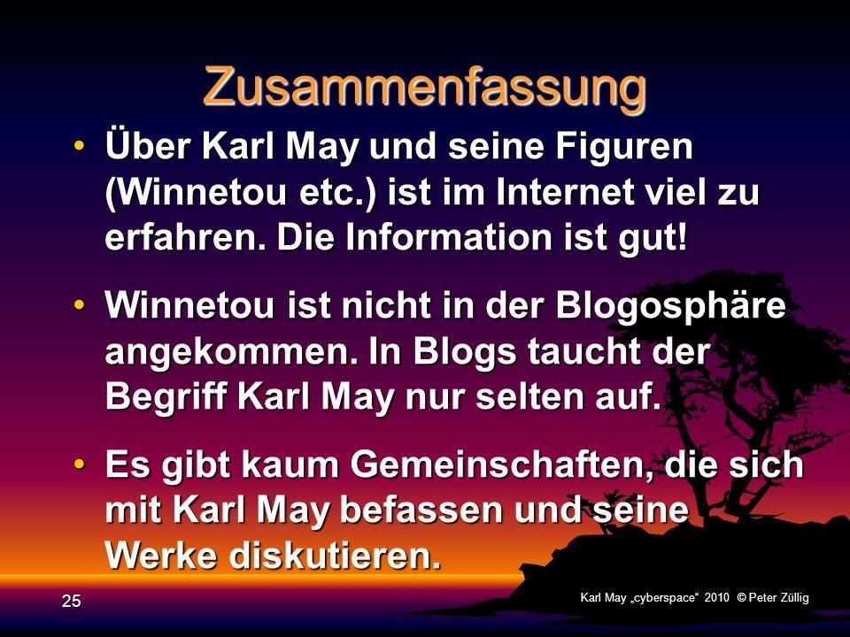 Zusammenfassung Über Karl May und seine Figuren (Winnetou etc.) ist im Internet viel zu erfahren. Die Information ist gut!