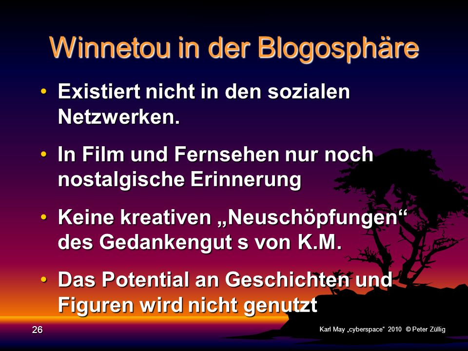 Winnetou in der Blogosphäre