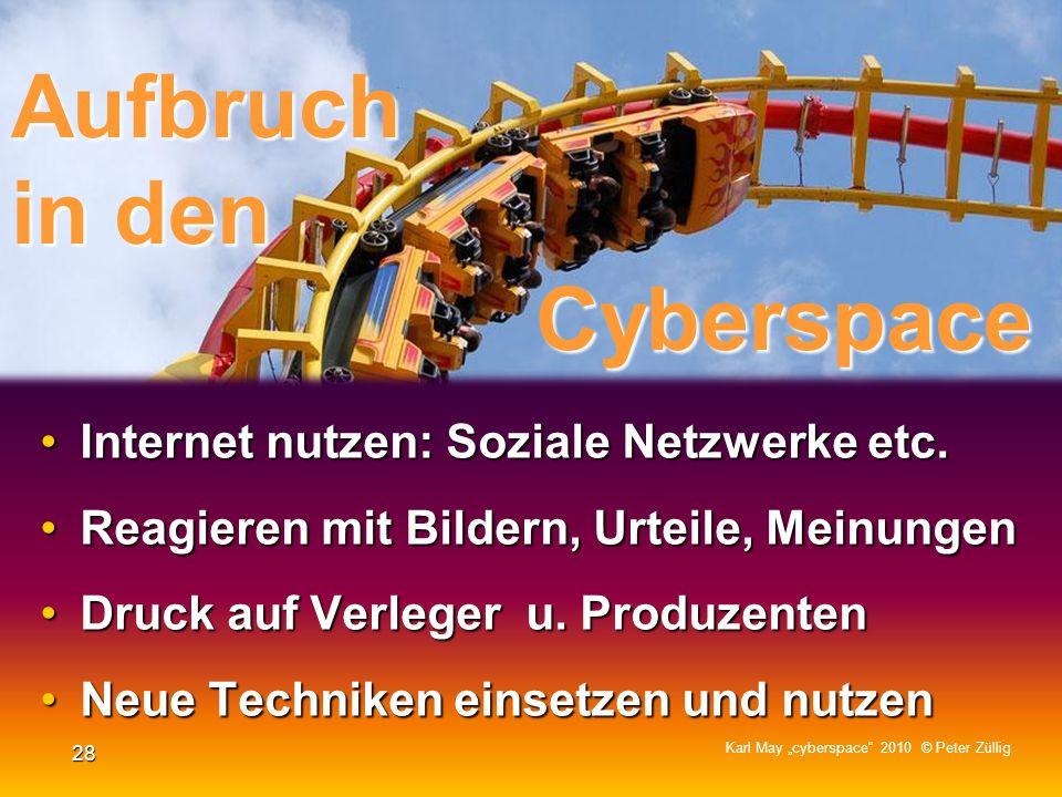 Aufbruch in den Cyberspace